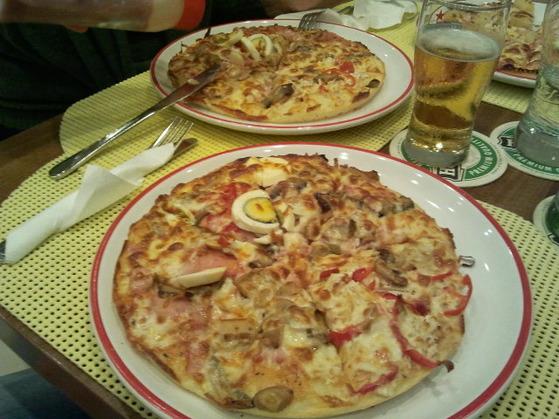 Pizzeria La Grigo Severin Pizza Quatro