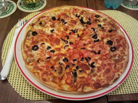 Pizzeria La Grigo Severin pizza Grigo