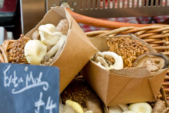 Street food în Broadway Market din Londra