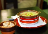 Supa cruda de avocado restaurant Bio Fresh Timisoara