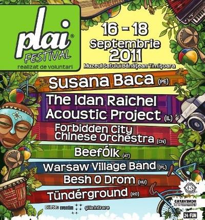 Poster PLAI Festival 2011