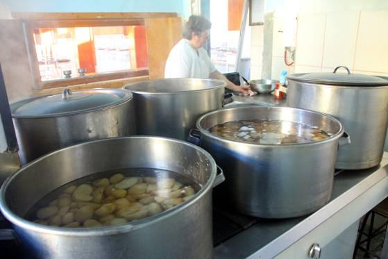 Pregatirea cartofilor pentru piure