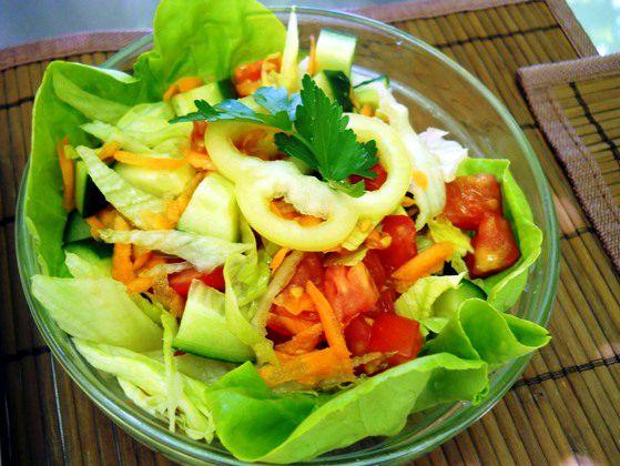 Salata la restaurant Casa Voastra Timisoara