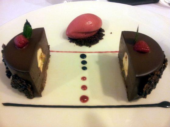 Mousse de ciocolata belgiana Restaurant Graf