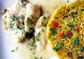 File de salau cu orez oriental
