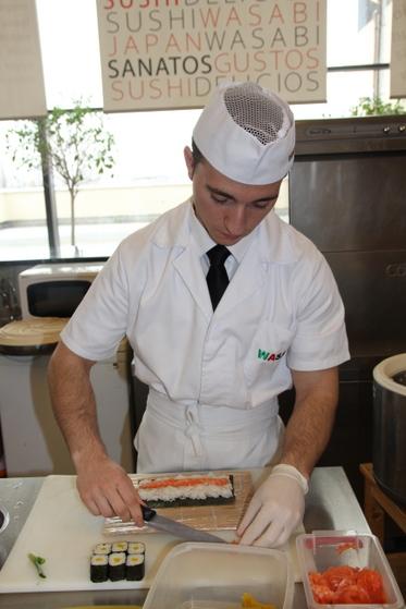 preparare maki restaurant wasabi