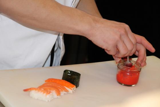 preparare sushi