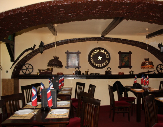 Interior restaurant yugoslavia