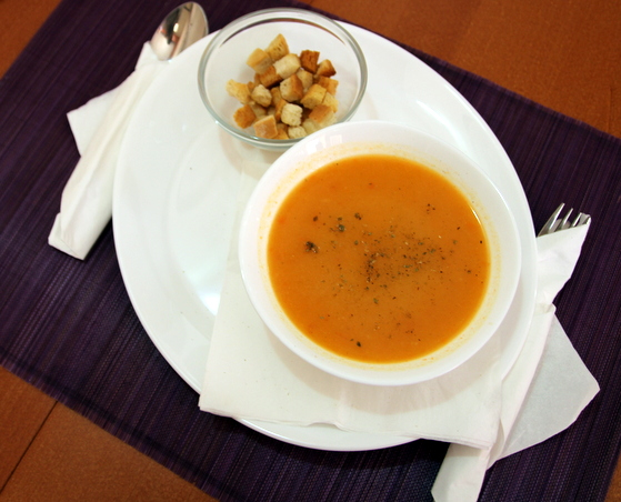 Supă crema de legume cu crutoane Spring Phoenix