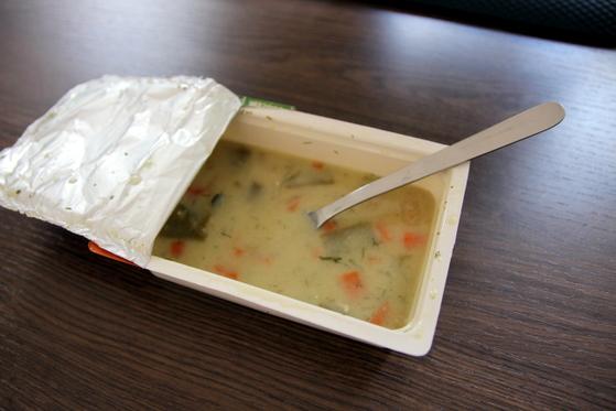Supa de fasole cu smantana Quick Lunch