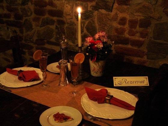 decor cina romantica casa antinori