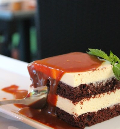 choco guiness cake