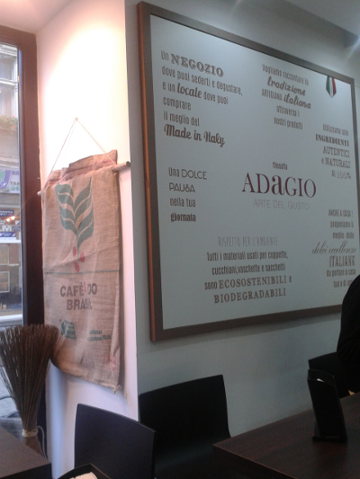 detaliu cafenea adagio