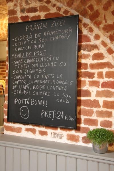 Meniul zilei Restaurant Urban