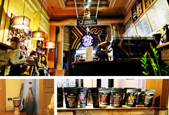 Interior Tucano Caffee Bucuresti