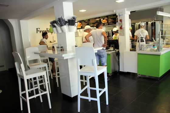 Interior Fresh Kebab