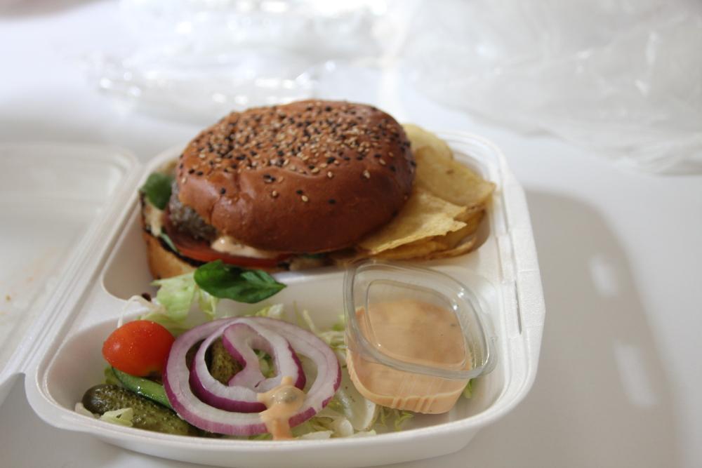 Pork Burger La Strada