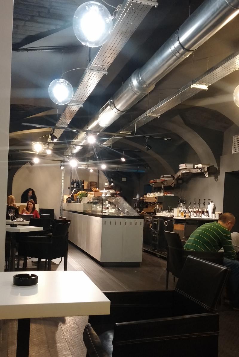 Garage Cafe Interior