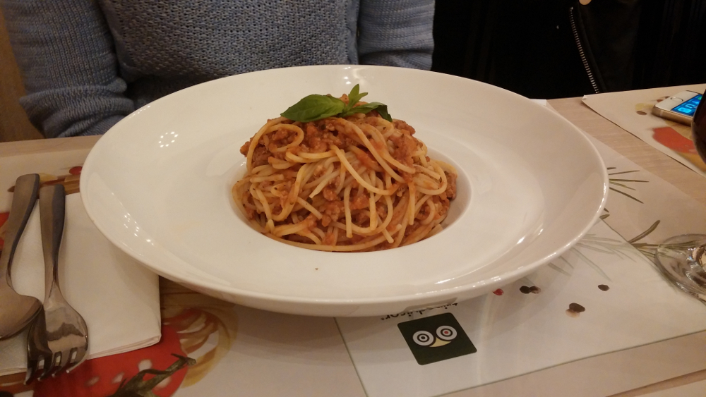 Enzo - Spagetti Bolognese
