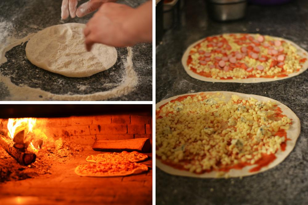 Pregatire pizza Il Milanese