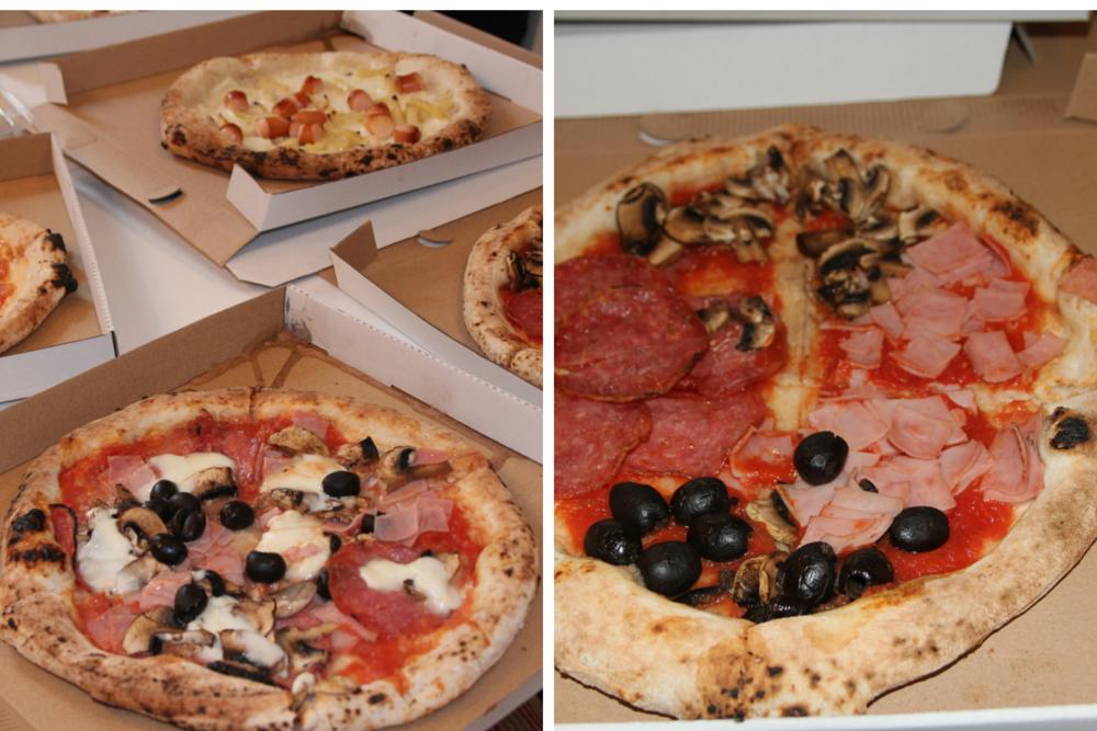 Pizza Core e Napoli