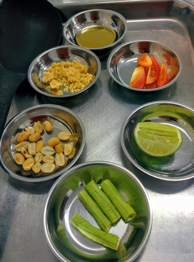 Pregatire Salata Papaya