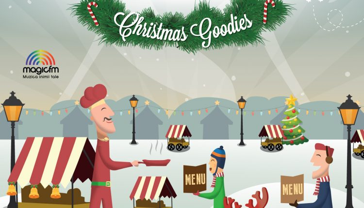 Street Food Festival Christmas Goodies