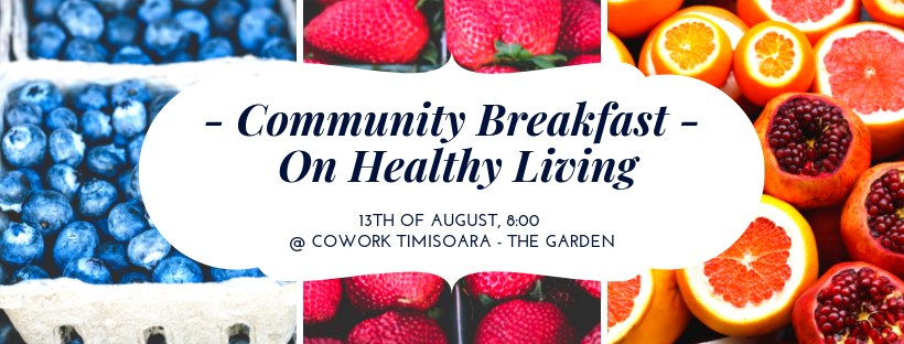 Community Breakfast - On healthy living