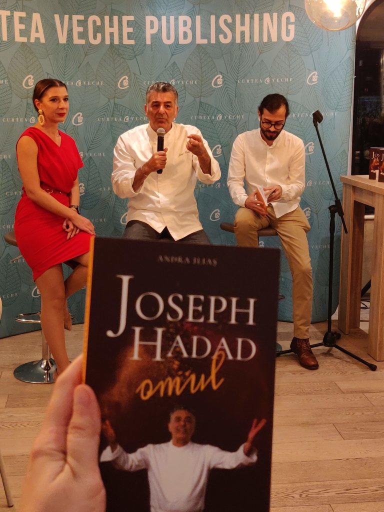 """Lansare de carte - Joseph Hadad """"Omul"""""""