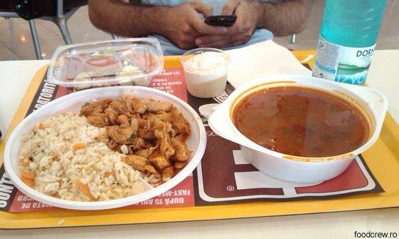 Meniu la 3F in Iulius Mall Timisoara