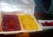 Piept de pui în sos de vişine cu salată de sfeclă roşie - Quick Lunch