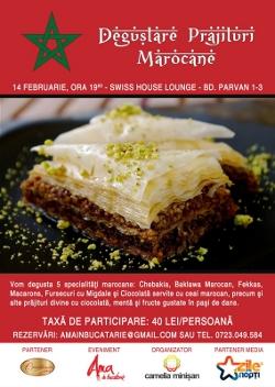 Afişul evenimentului Degustare de prăjitri marocane