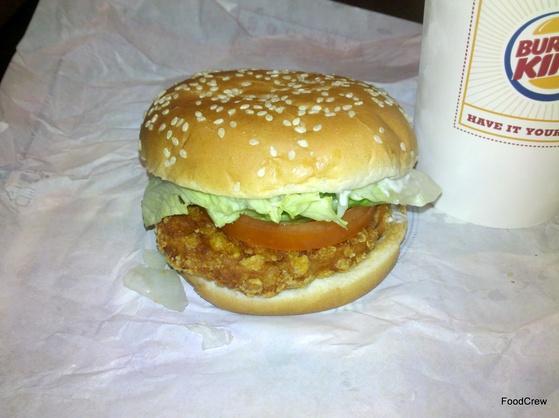 Burger King Crispy Chicken