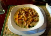 Supa crema de ciuperci Specialitate la Pizzeria Rustica din Timisoara