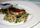 Gastro Show Chef Spiros Dimitriou - pui cu rozmarin la grătar şi salate de cuscus, vinete cu feta şi sos tzatziki