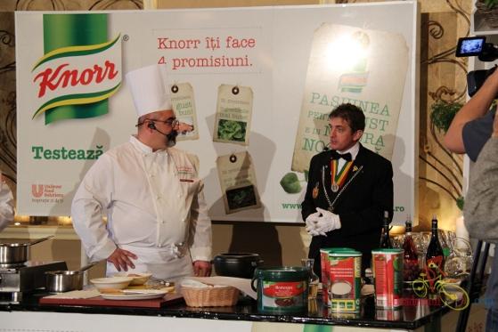 Degustarea Knorr pentru bucătarii din Oradea