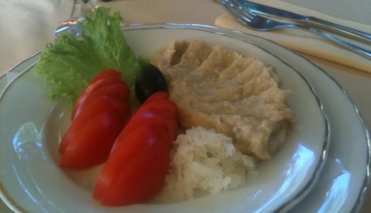 Salată de vinete, Restaurant Tinecz