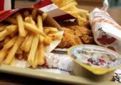 Meniu Crsipy Strips la KFC