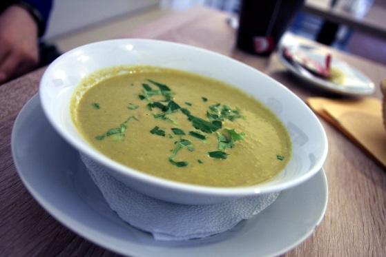 supa crema praz