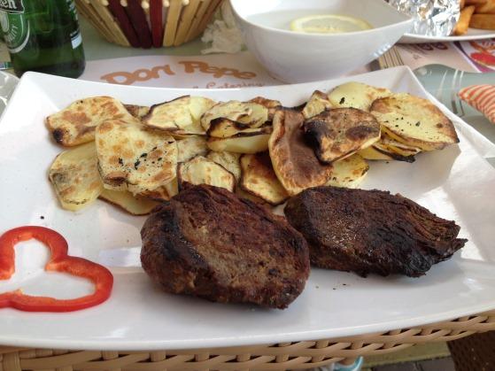 muschi de vita cu cartofi