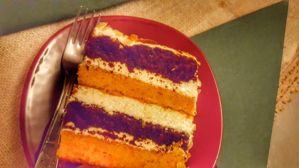 Carrot cake Medieval Cafe