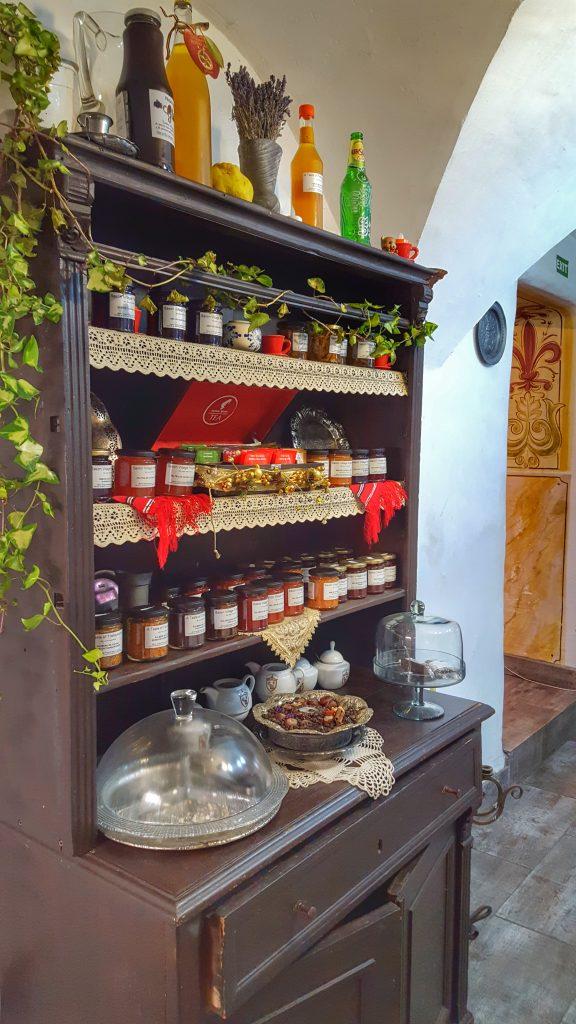 Interior MEdieval Cafe