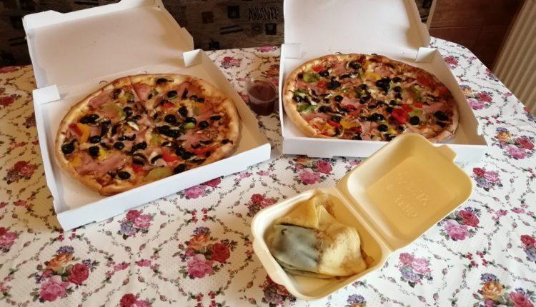 pizza si clatite la pachet