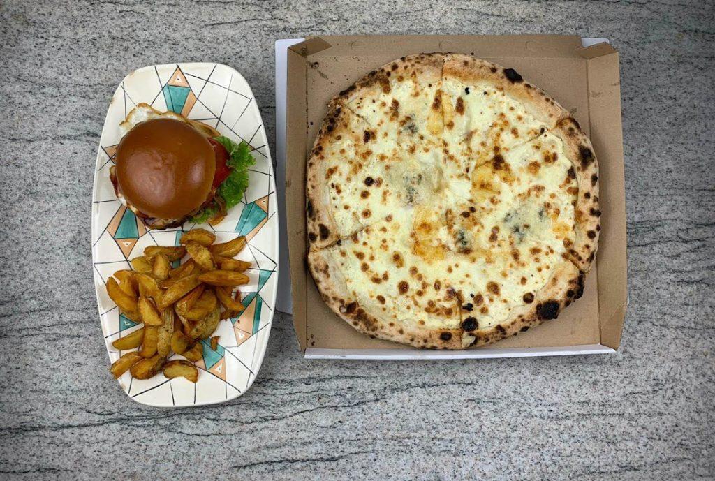 Burger și pizza de la Daily Timișoara