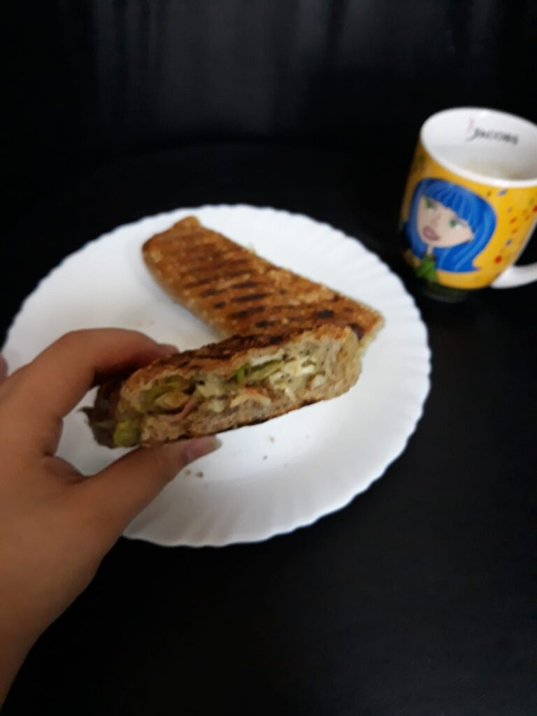 Crispy Avocado Sandwich