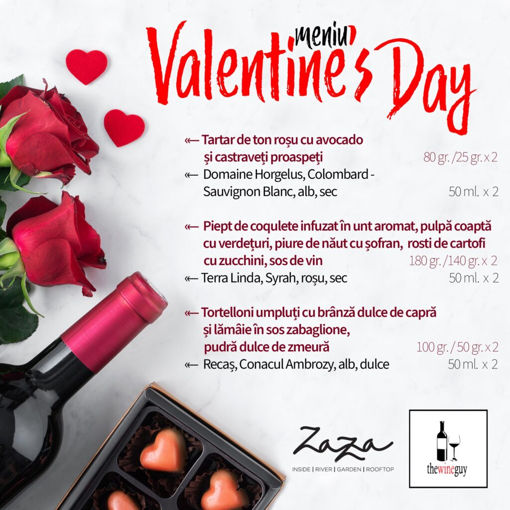Zaza Resto Pub - Valentine's Day Timisoara 2021